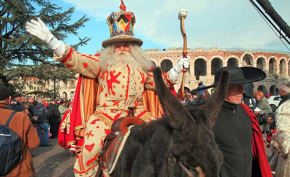 Il Carnevale Veronese – El Bacanal del Gnoco